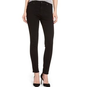 AG Denim Farrah High Rise Skinny Ankle Jeans